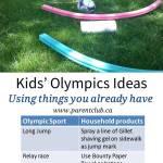 Kids' Olympics Ideas