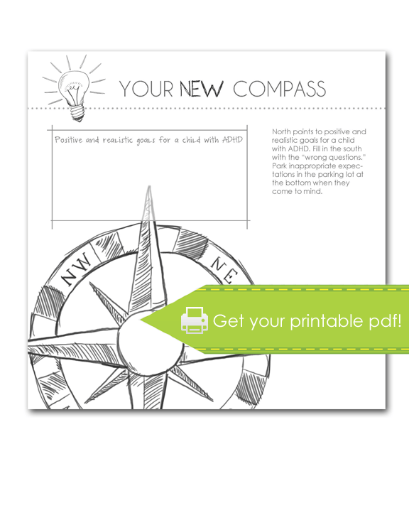 your new compass