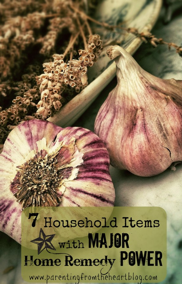 As a result of my reading Home Remedies An A-Z Guide of Quick and Easy Natural Cures, I have compiled a list of 7 household items with major home remedy power.