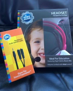 kidz gear headset and splitter