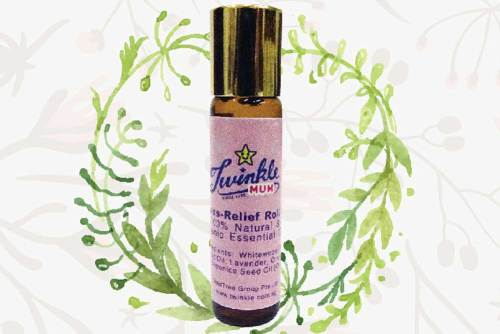 twinkle mum stress relief roll on