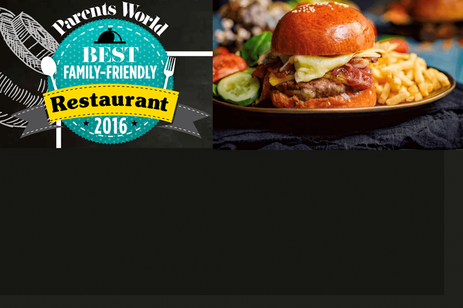 best family friendly restaurants award banner