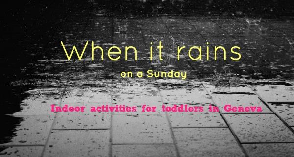 Rainy sunday in Geneva