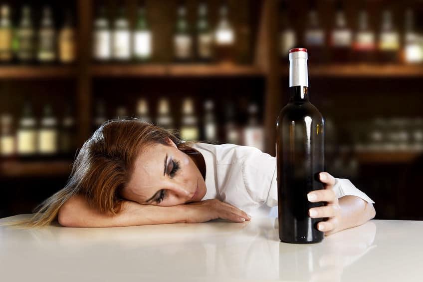 femme alcool