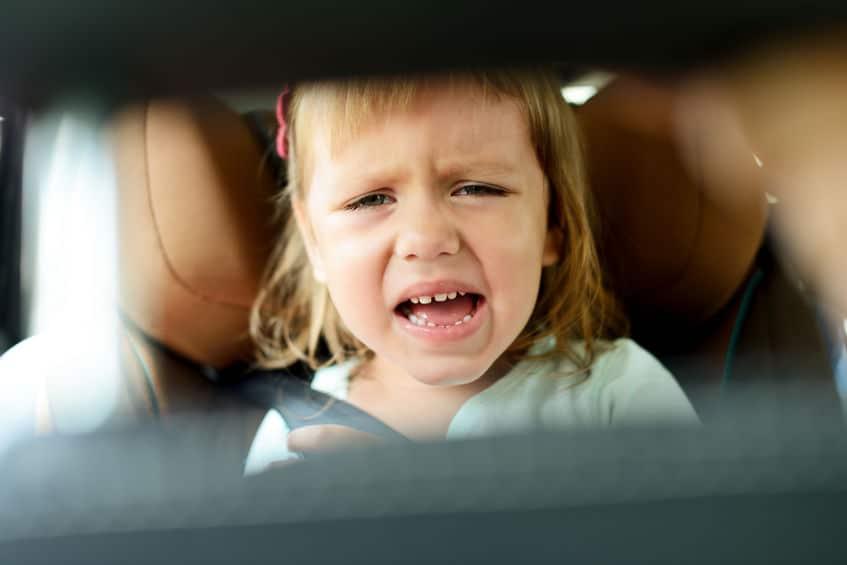 enfant auto rétroviseur
