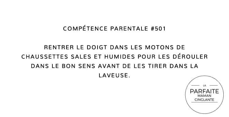 COMPTENCE 501 CHAUSSETTE