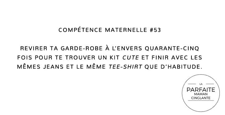 COMPÉTENCE MATERNELLE 53 JEANS
