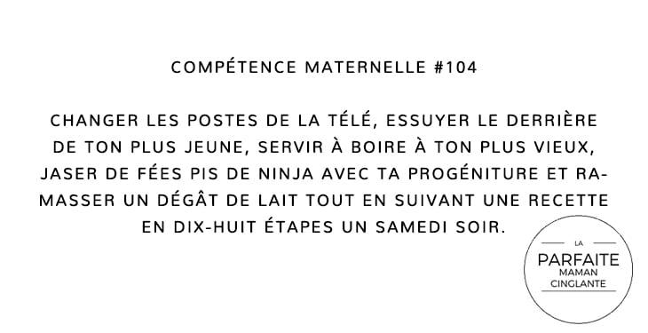 COMPTENCE MATERNELLE 104 POLYVALENCE