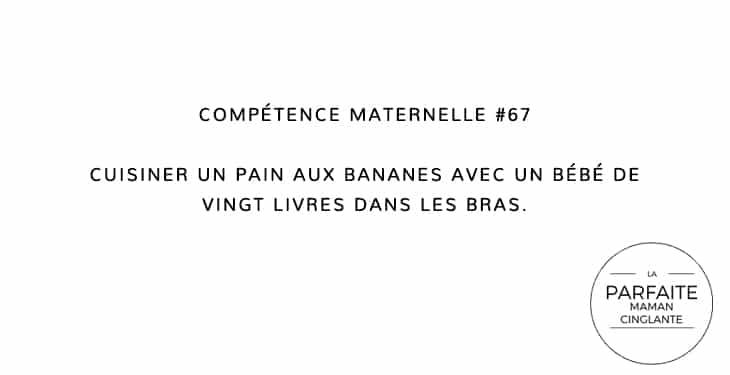 COMPTENCE MATERNELLE 67 PAIN AUX BANANES