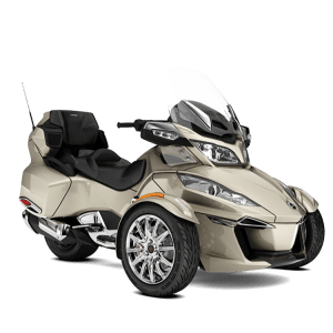 Spyder RT Limited édition chrome chez Can-Am Paris Nord Moto