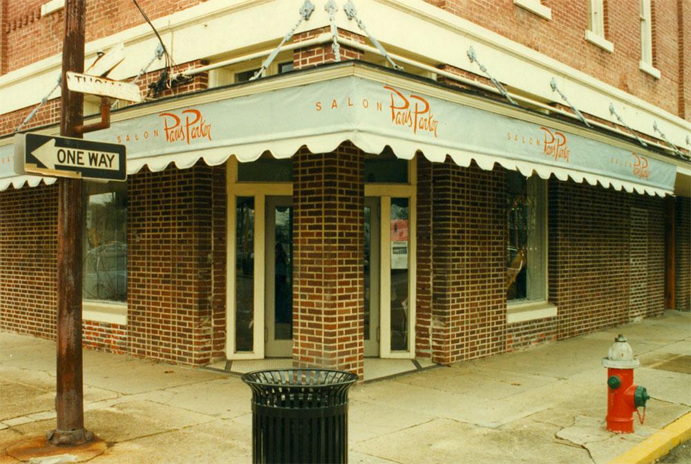 The original Paris Parker Salon— in downtown Hammond, LA Source: Neill Corporation