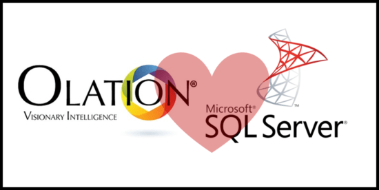 How Does Microsoft SQL Server work with Olation?