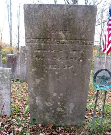 Josiah Converse Captain American Revolution 1