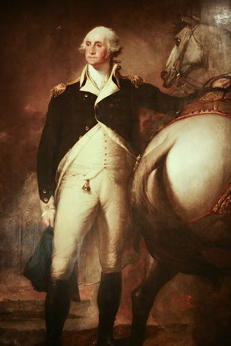 George Washington Gilbert Stuart Samuel Parkman Boston Museum of fine Arts
