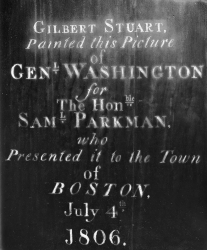 George Washington Samuel Parkman Gilbert Stuart BMFA Feb 2015 D952