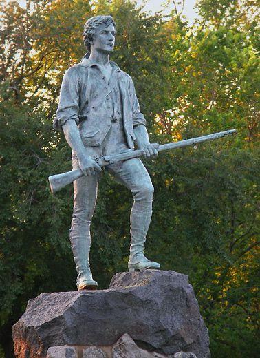 minuteman concord statue