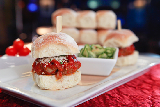 Meatball Sliders from House of Blues at Downtown Disney District