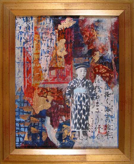 Japanese Memories Hazel Jarvis mixed media 2005