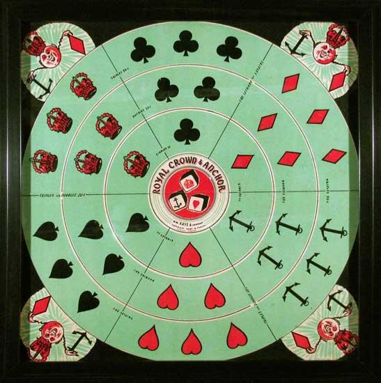 Royal Crown & Anchor Board Game