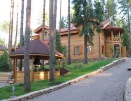 Деревянная резиденция