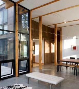Деревянные конструкции в интерьере