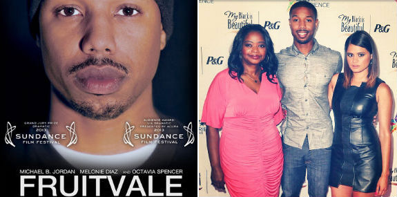 'Fruitvale Station' actors Octavia Spencer, Michael B. Jordan and Melanie Diaz