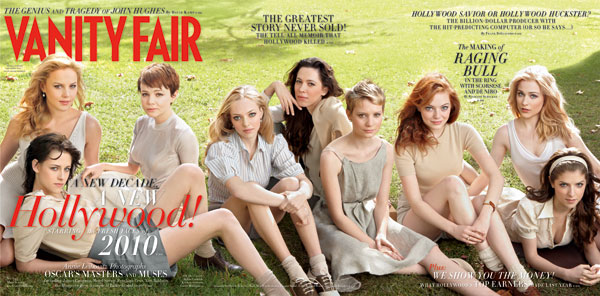 vanity fair Cover Girls March 2010