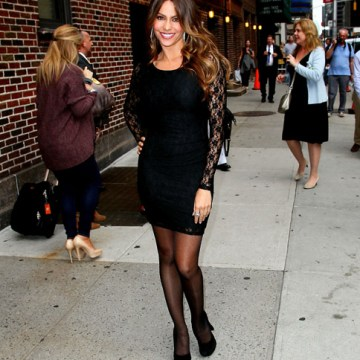 "Sofia Vergara departs ""Late Show With David Letterman"" 2"