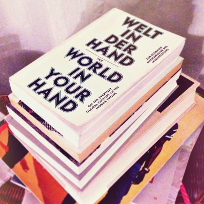 "Still a great overview: ""World In Your Hand - On The Everyday Culture Of The Mobile Phone"" published 2010 by Spector Books"