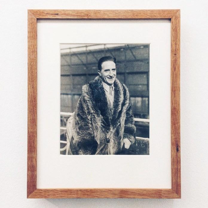 Image from the exhibition «Remise am Jungfernstieg» about Marcel Duchamp at 8. Salon in Hamburg