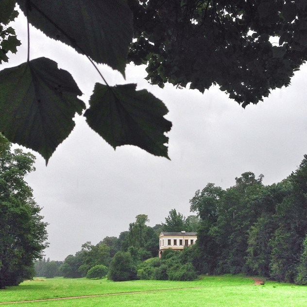 The highlight of the Ilmpark in Weimar was the realization of the «Roman House» by duke Carl August. Von Goethe had travelled Italy between 1786 and 1788 where he found inspiration in the Roman country houses. | Photo: Norbert Bayer