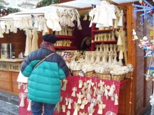Mala Strana Xmas market booth