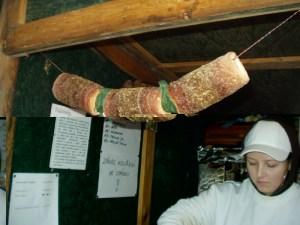 trdlo, cinnamon donuts in Prague Christmas markets