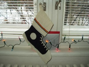 Xmas Decoration Michael's Stocking in Prague