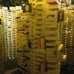 brick maze on Prague street