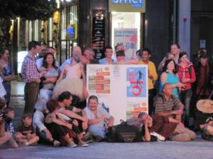 audience participation in street theatre