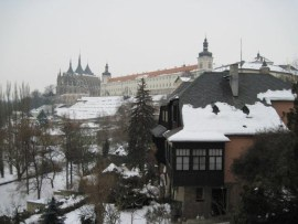 View in Kutna Hora in January