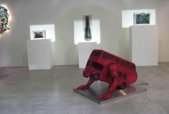 David Cerny exhibition