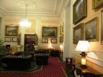 Elegant lobby of Grandhotel Putt
