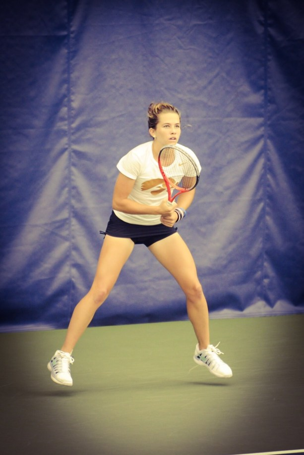 Shelby was a full scholarship tennis player at the University of Iowa. She has just begun her pro tennis career.