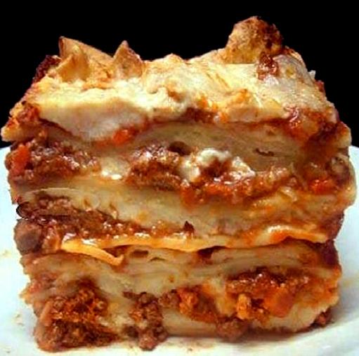 Bolognese Lasagne Recipe — Dishmaps
