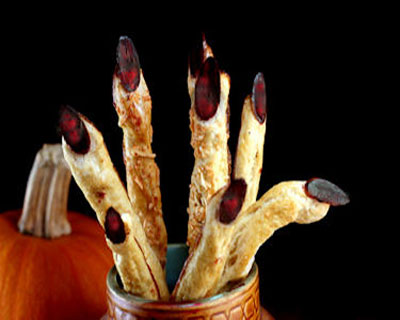 Witch's Finger Breadsticks
