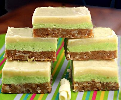 ... Chocolate Key Lime Macadamia Nanaimo Bars - Parsley, Sage, and Sweet