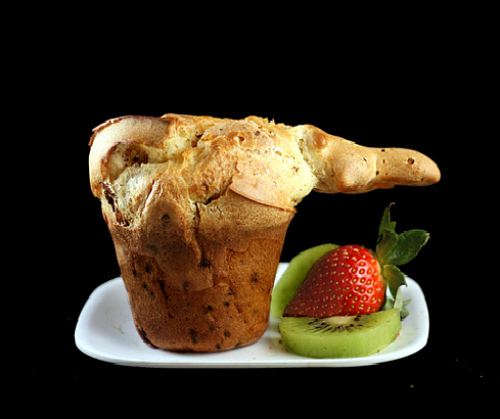 Mile High Chocolate Flecked Popovers