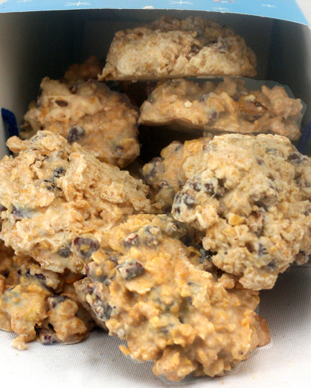 White Chocolate Butter Pecan Crunch Clusters