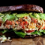 "Loaded Chicken or Tuna Salad with Greek Yogurt Garlic Ranch ""Mayo"""