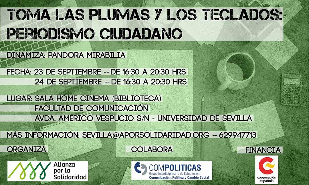 Afiche_taller_23-24 de septiembre_Sevilla