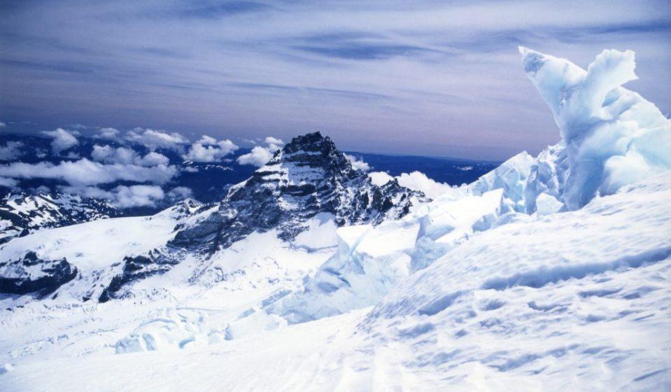 Little Tahoma Solarography, Mount Rainier, WA