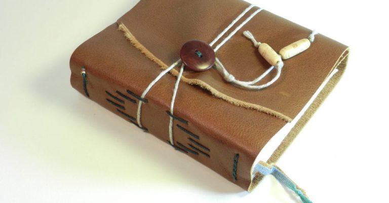 Leather Journal Light Brown 7x6