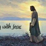 Jesus - walking with
